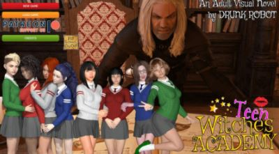 Teen Witches Academy 0.19 PC Game Free Download for Mac