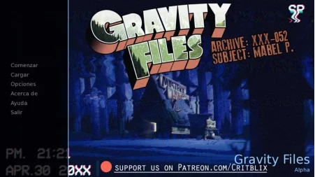 Gravity Files 1.1 Game PC Free Download for Mac
