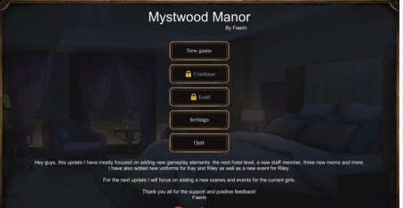 Download Mystwood Manor 0.6.1.7 Free PC Full Game